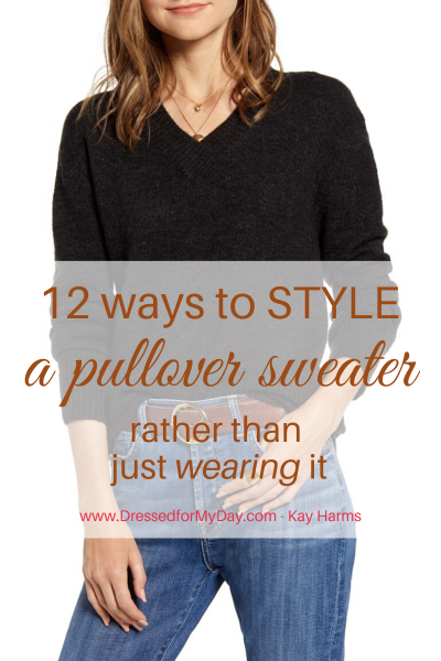 12 Ways to Style a Pullover Sweater