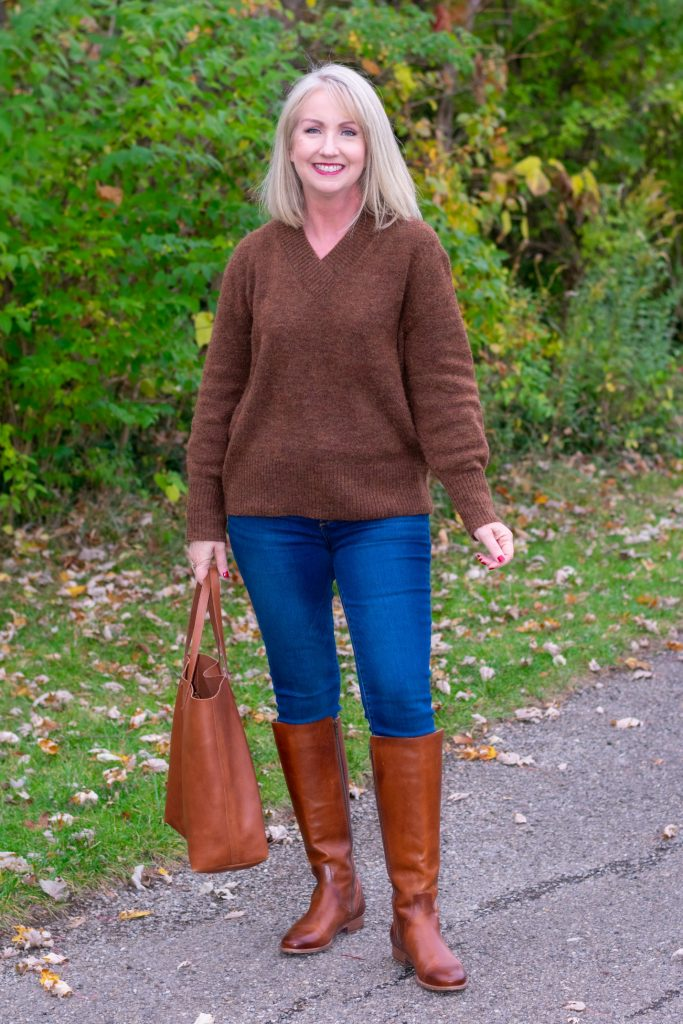 12 Ways to Style a Pullover Sweater instead of just wearing it 0
