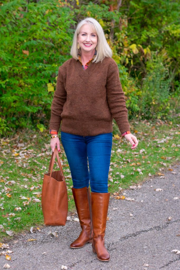 12 Ways to Style a Pullover Sweater instead of just wearing it