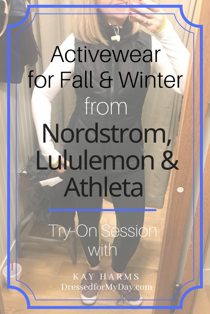 Activewear for Fall & Winter Part 1