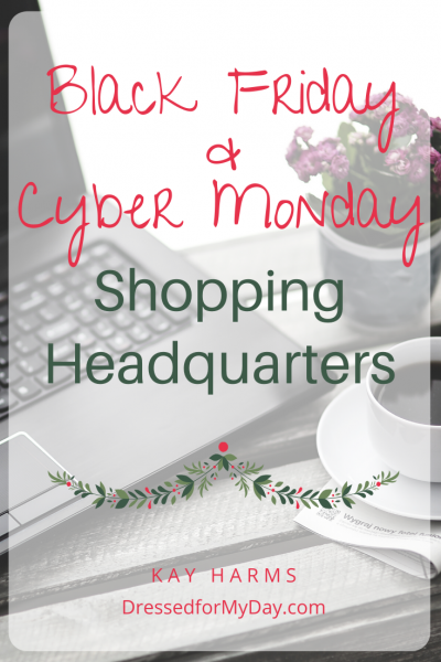 Black Friday and Cyber Monday Shopping Headquarters