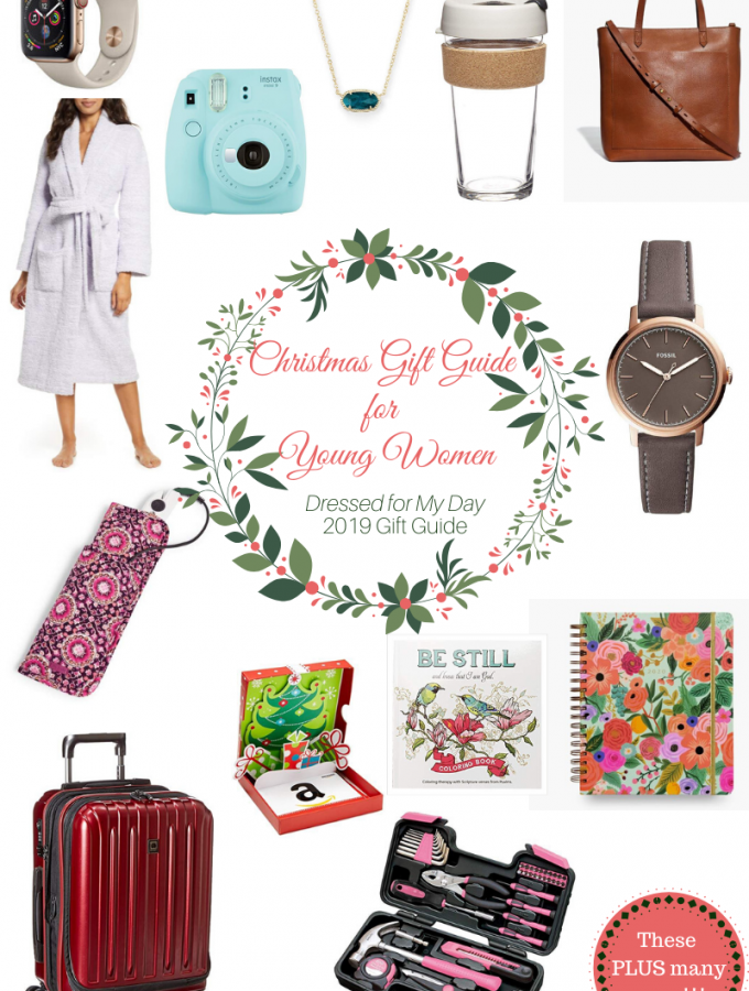 Christmas Gift Guide for Young Women 2019