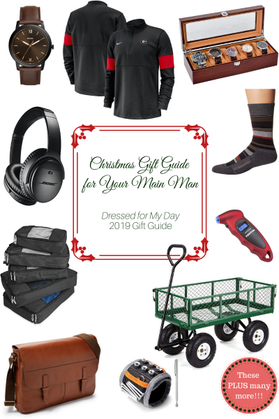Christmas Gift Guide for Your Main Man
