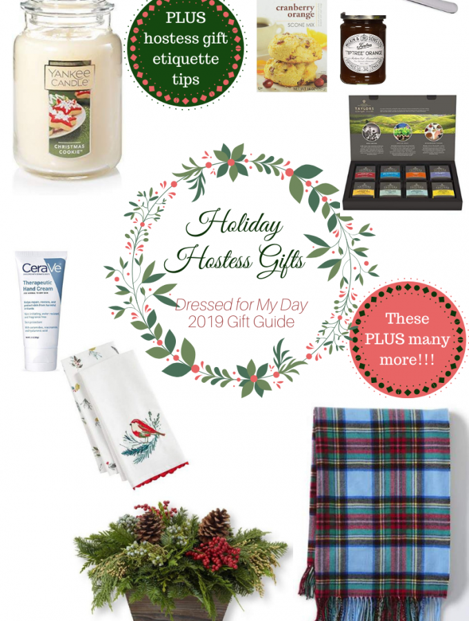 Holiday Hostess Gifts plus etiquette tips