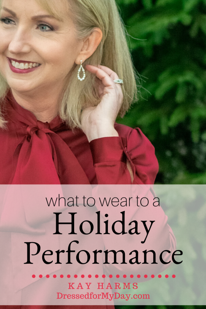 What to Wear to a Holiday Performance