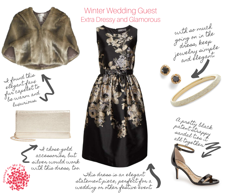 Extra Dressy and Glamorous Wedding