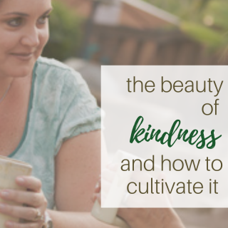 beauty of kindness