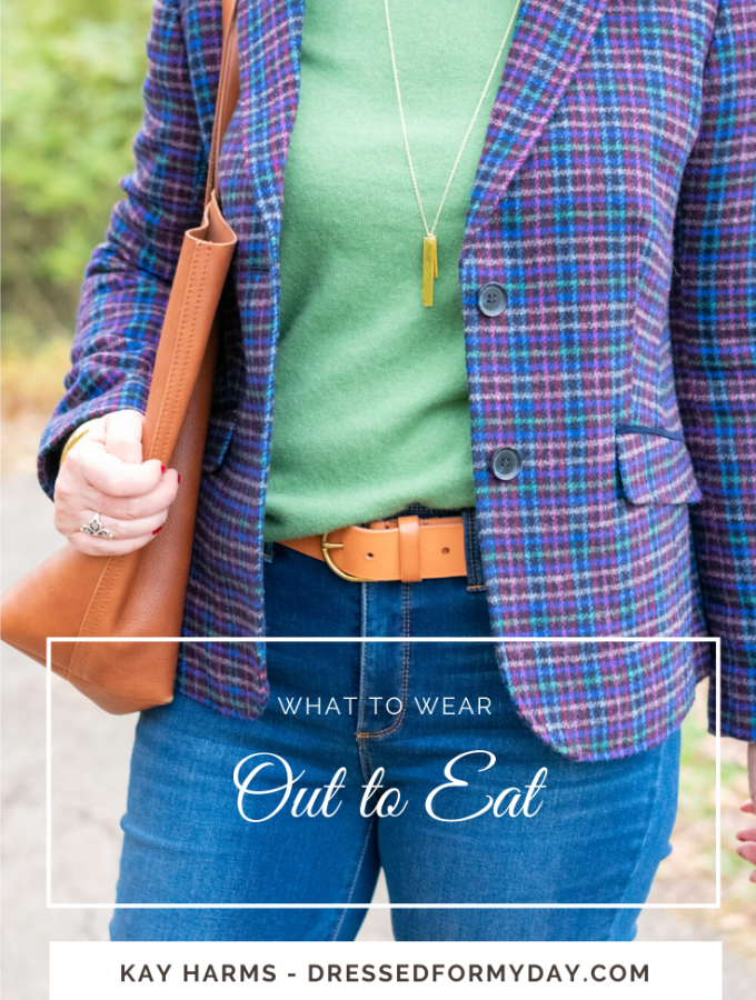 what to wear out to eat