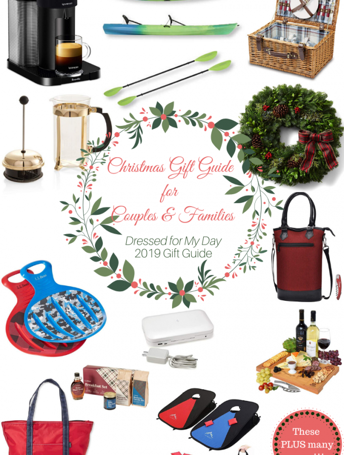 Christmas Gift Guide 2019 for Couples & Families
