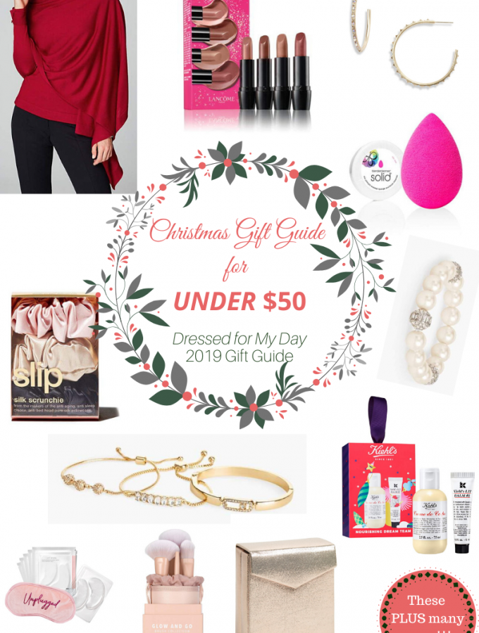 Christmas Gifts for Her Under $50