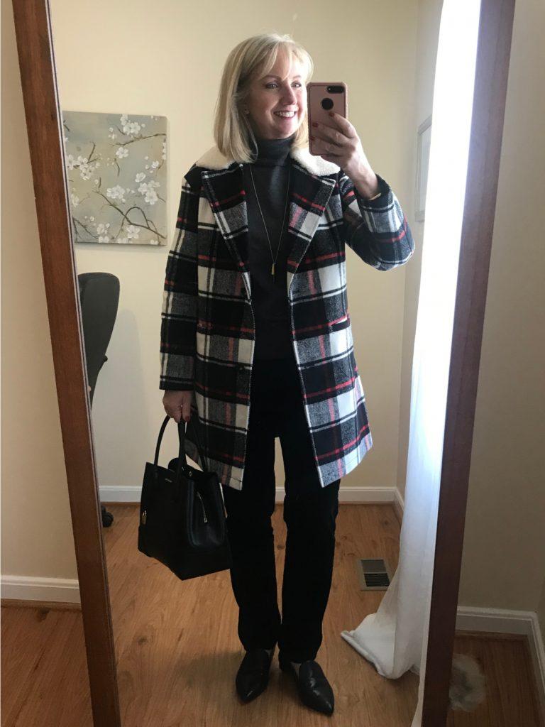 Plaid Levi's Coat