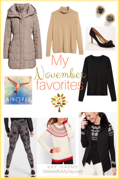 My November Favorites