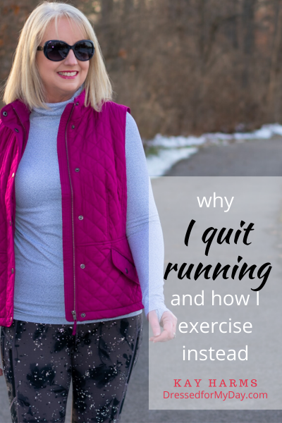 Why I Quit Running