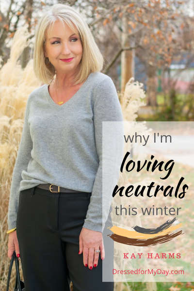 Why I'm loving neutrals this winter