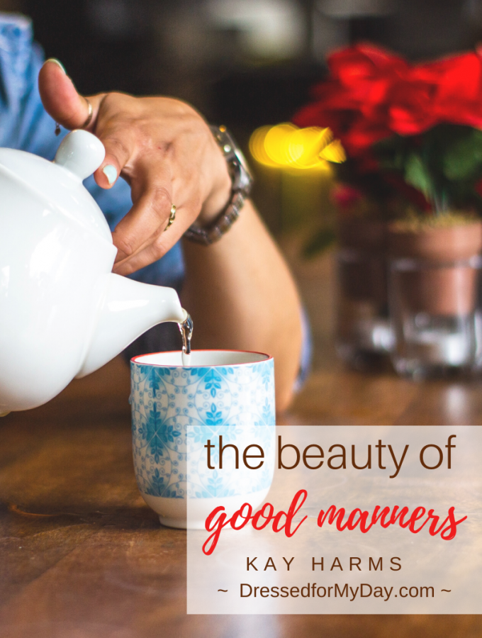 The beauty of good manners