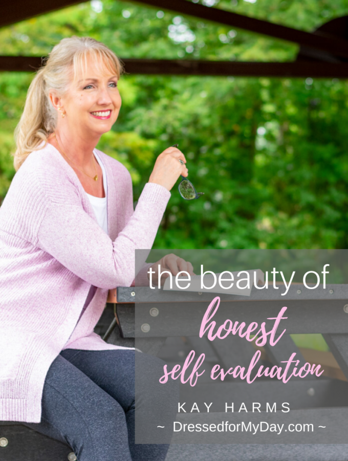 The beauty of honest self evaluation