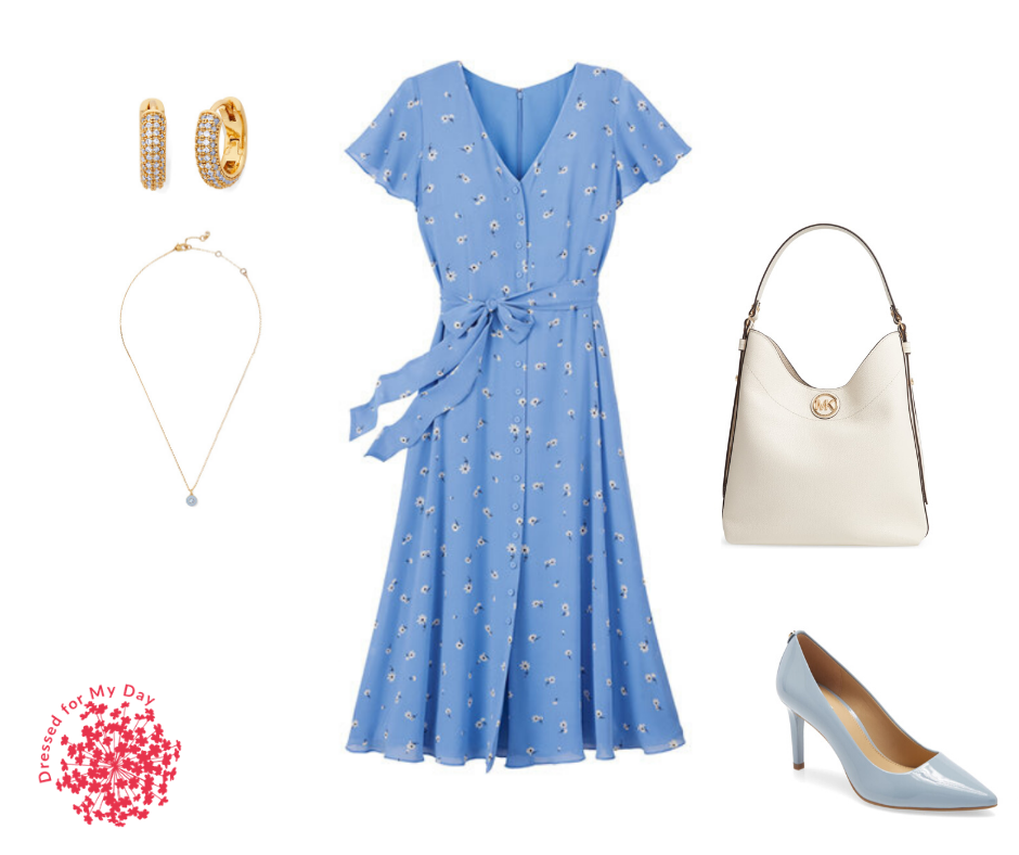 Classic Blue Outfit for Spring