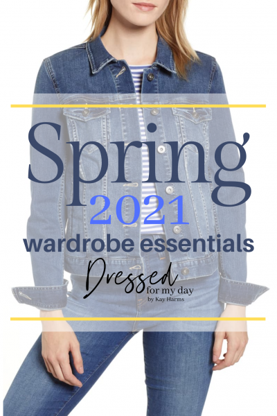 Spring 2021 Wardrobe Essentials