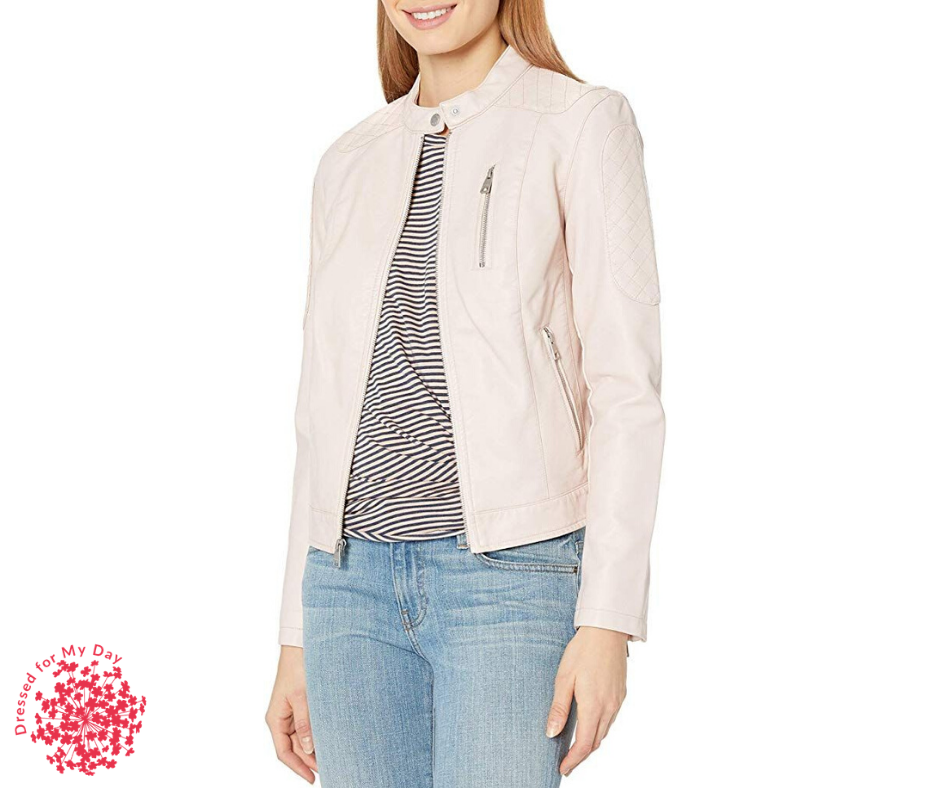Spring Completer Pieces leather jacket