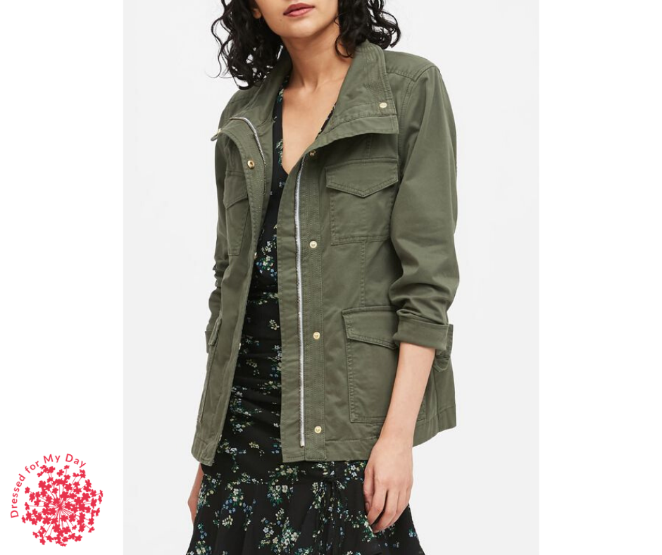 Spring Completer Pieces utility jacket
