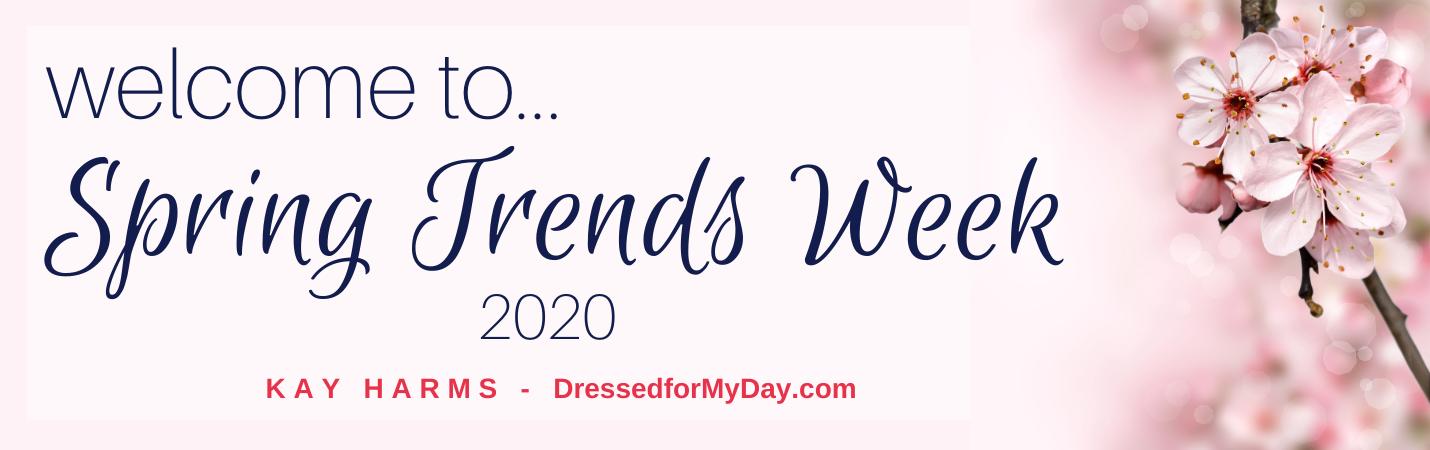 Spring Trends Week 2020 banner