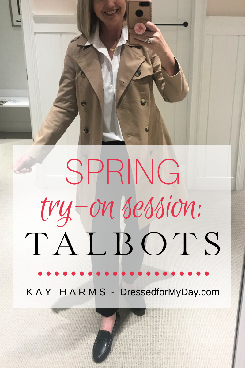 Spring Try-On Session at Talbots