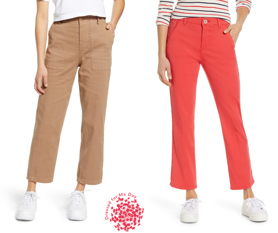 Cotton Pants for Spring Wardrobe