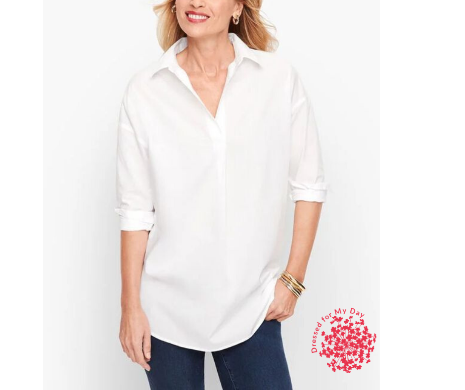 Crisp White Shirt