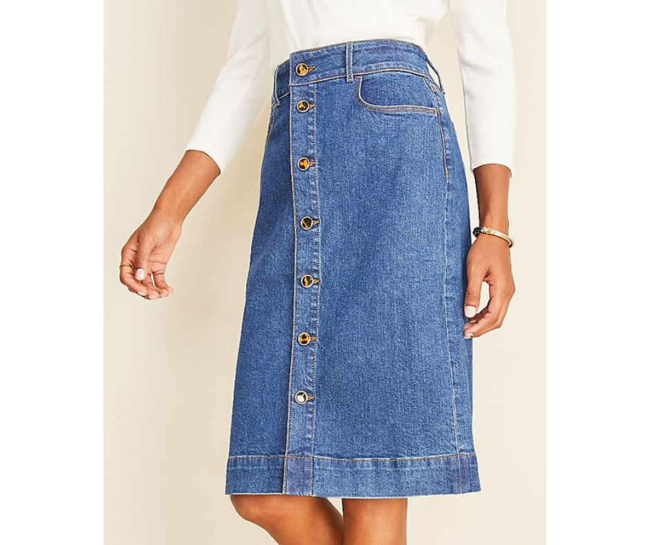 Spring 2020 Denim Skirt