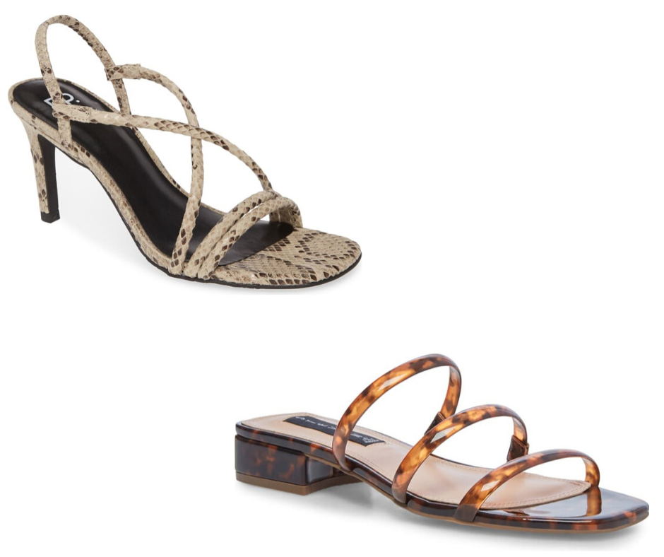 Strappy Sandals for Spring