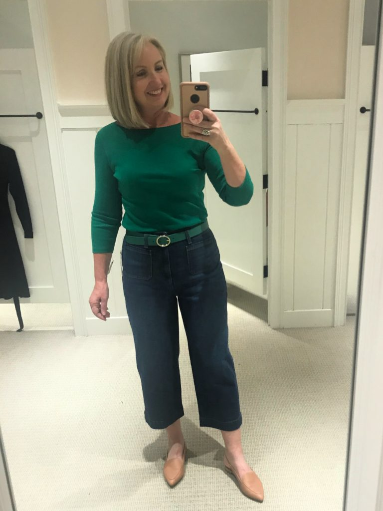 Talbots Spring Line Try-On Session(19)