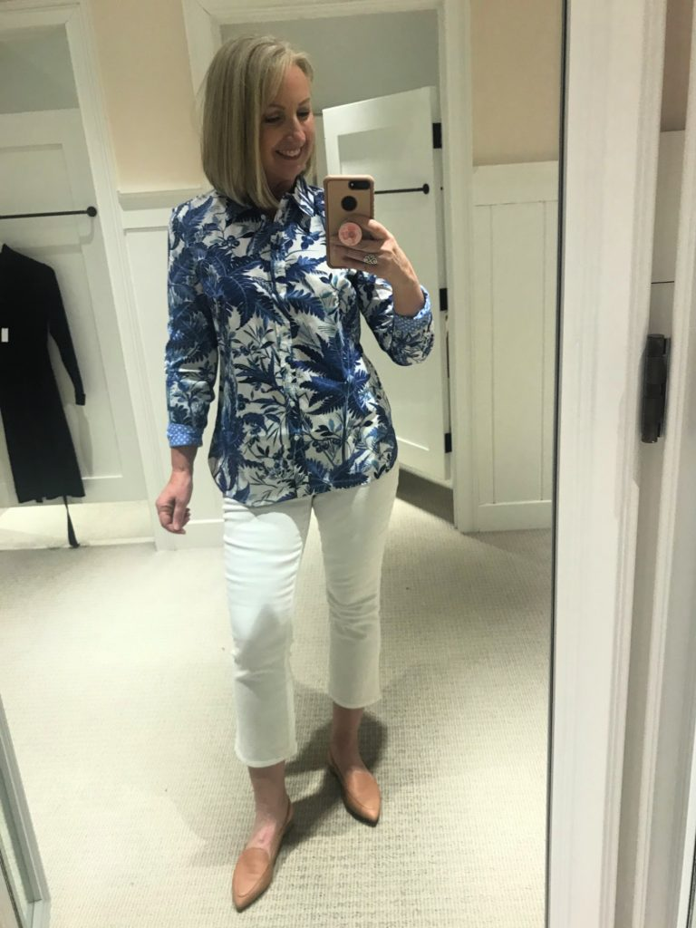 Talbots Spring Line Try-On Session(23)