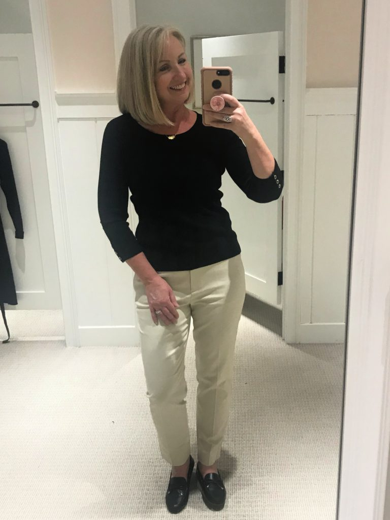 Talbots Spring Line Try-On Session(27)