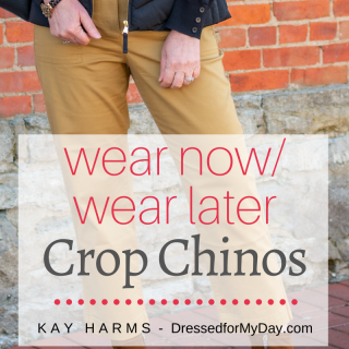 Wear Now Wear Later Crop Chinos
