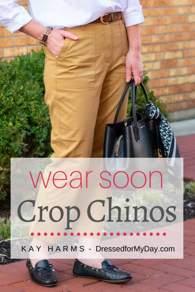 Crop Chinos to Wear Soon - Three ways to Crop Chinos - Now, Soon and Later