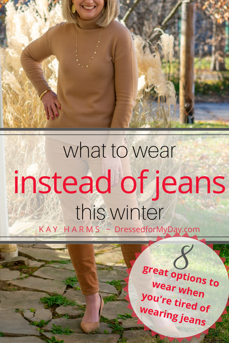 What to wear instead of Jeans this winter