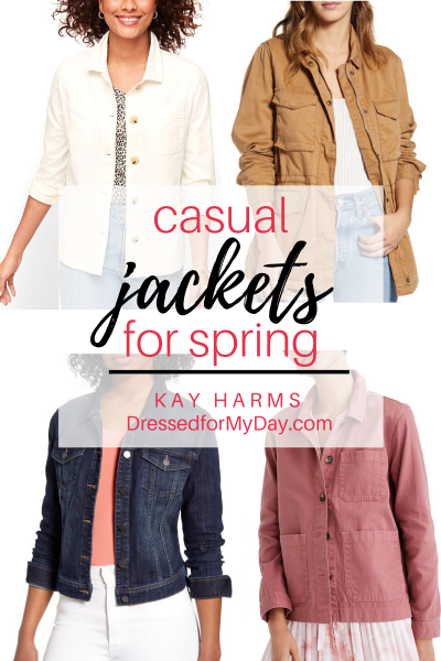 Casual Jackets for Spring