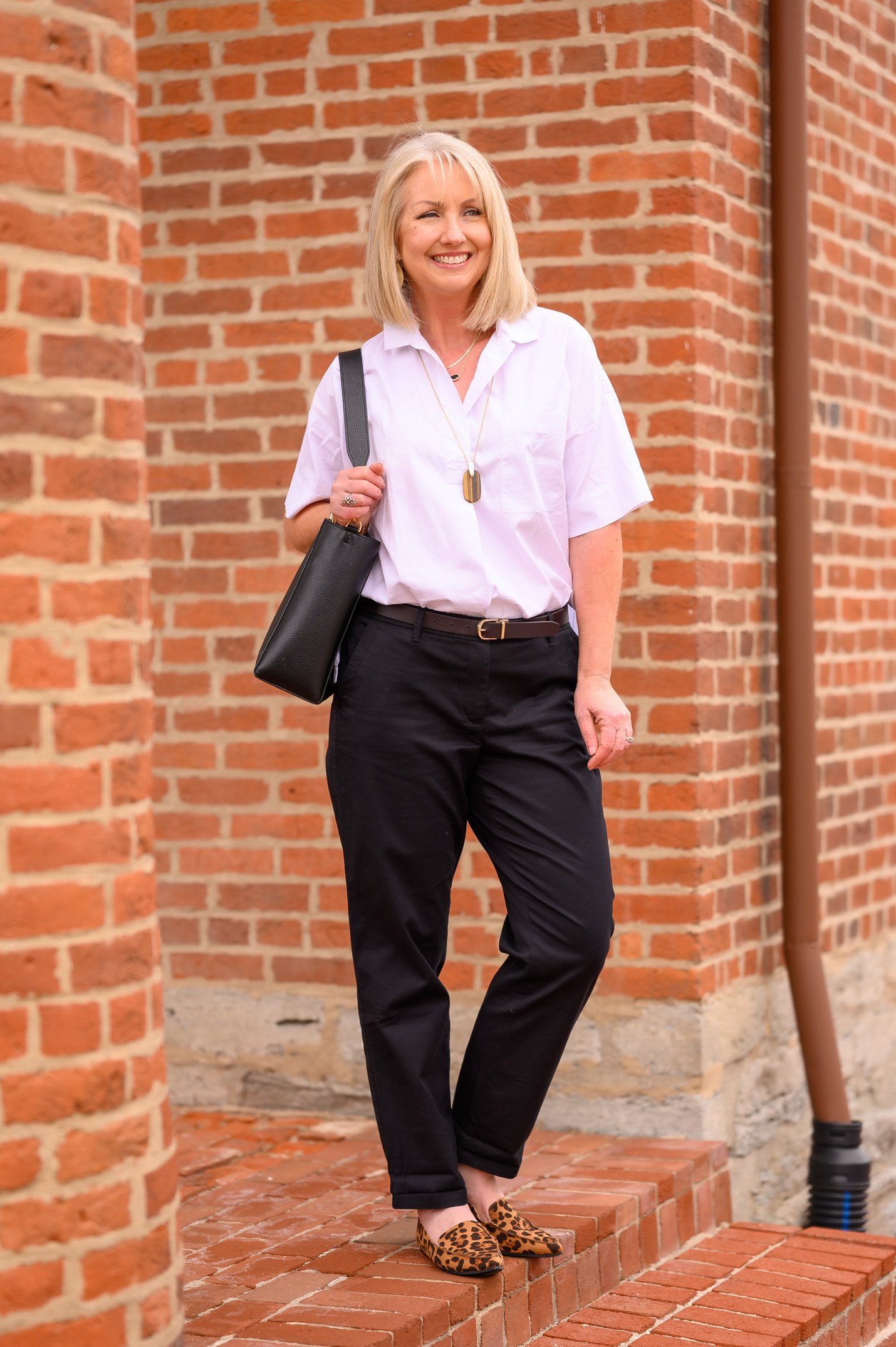 Classic Black Chinos for Spring (3)