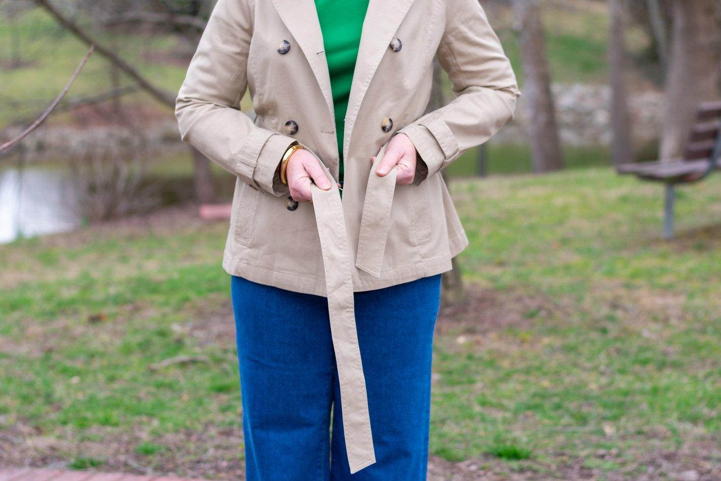 How to Tie Your Trench Coat Belt