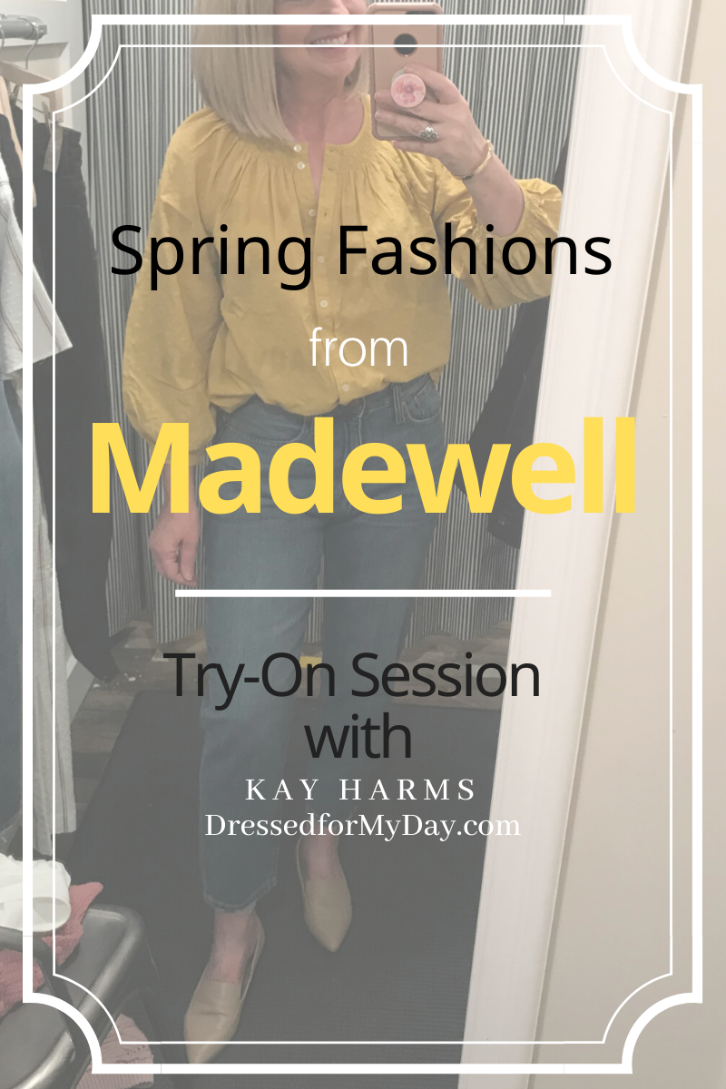 Spring Try-On Session from Madewell