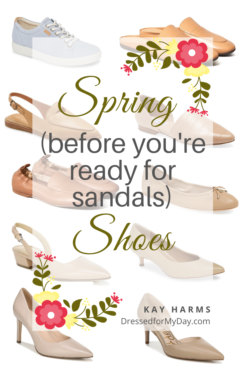 Spring Shoes (Before You're Ready for Sandals)