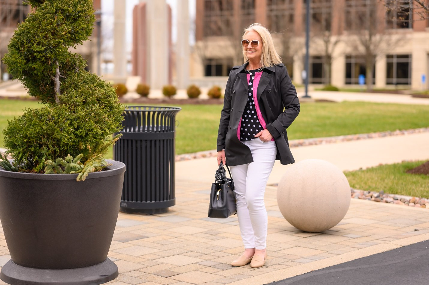 Styling Polka Dots for Spring