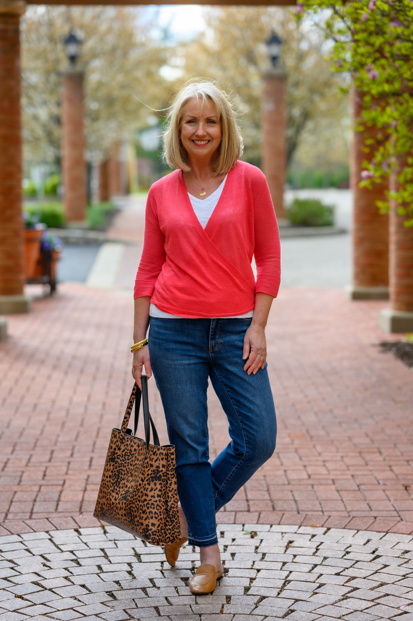 1 Beautiful Spring Sweater Worn 3 Ways
