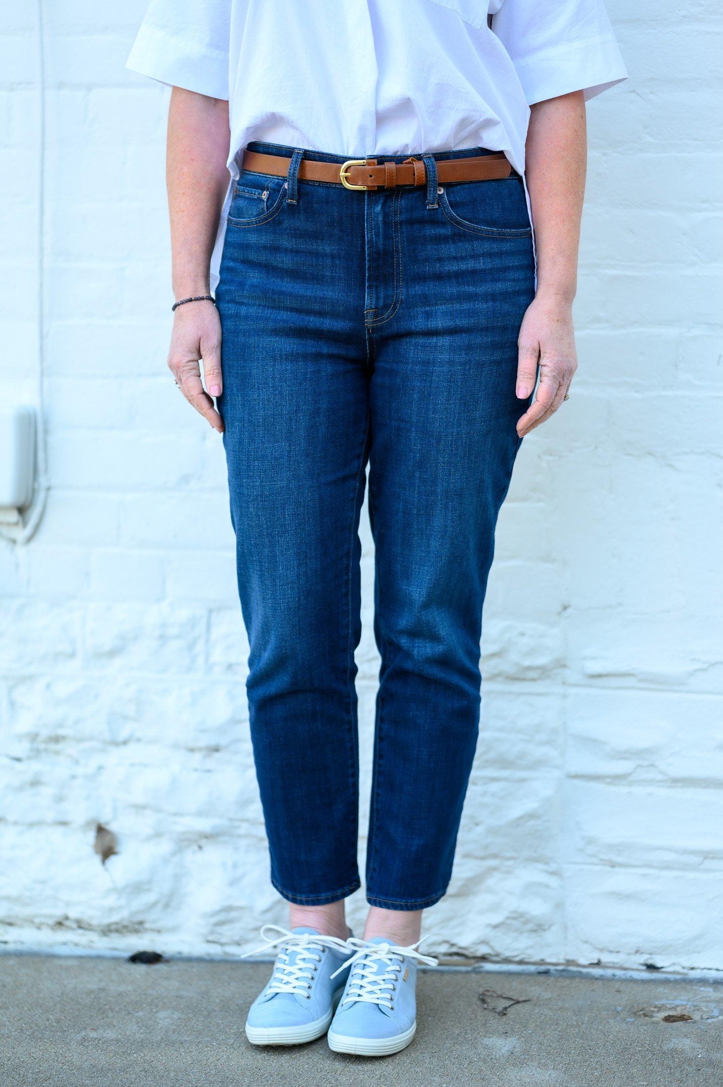 modern ankle jeans
