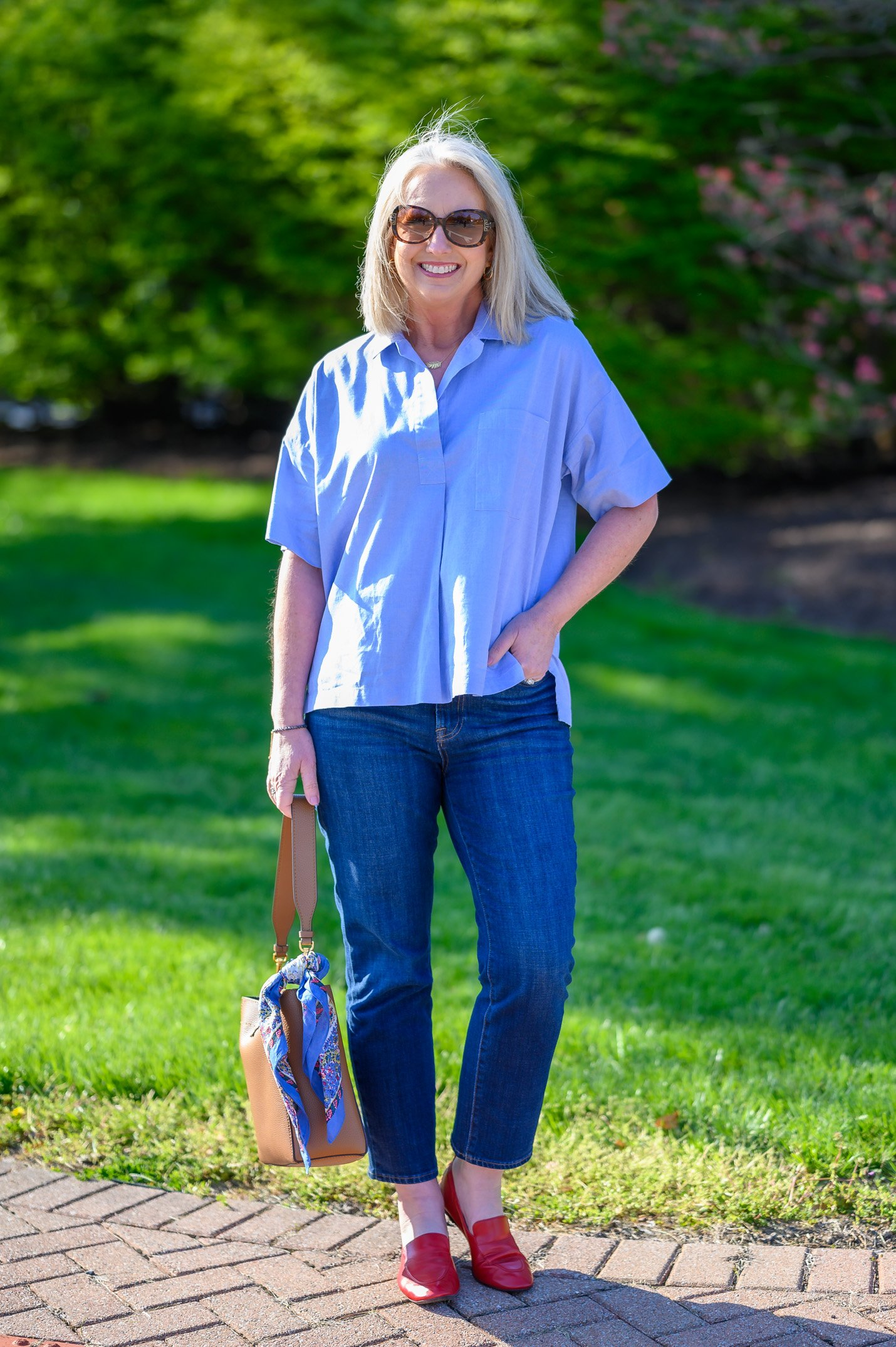 As Simple as a Popover & Jeans - 2 Styles