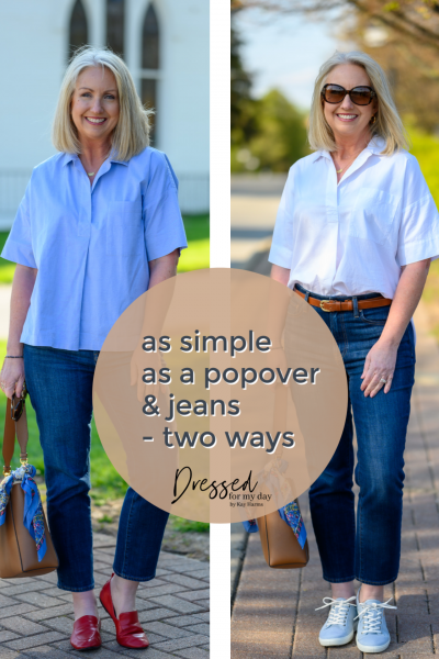 As Simple as a Popover & Jeans - 2 Styles - Cover