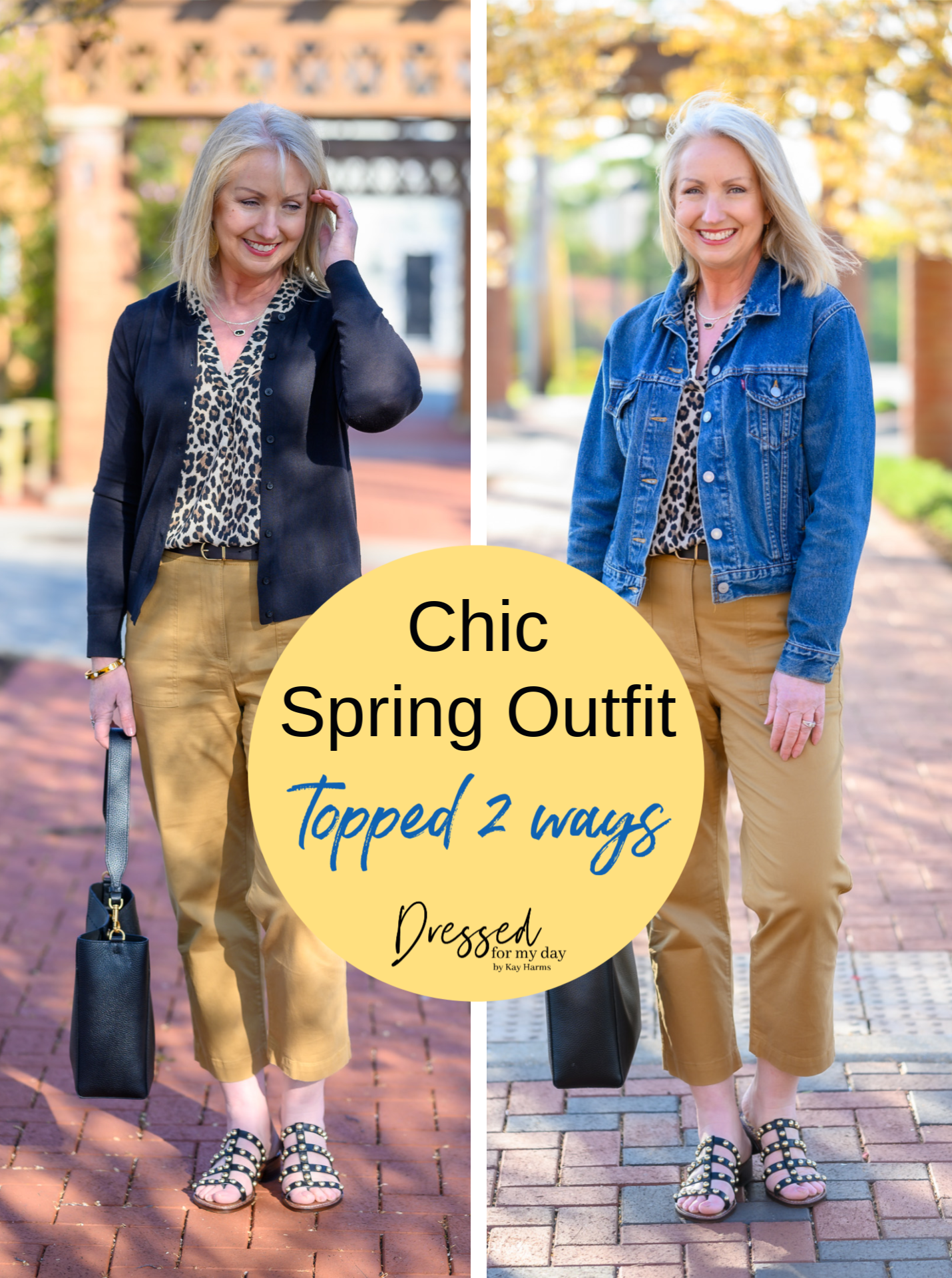 Chic Spring Outfit Topped 2 Ways