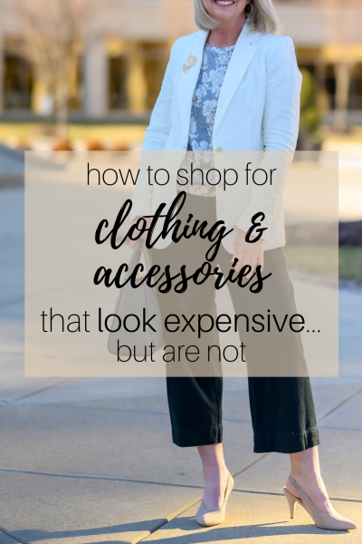 How to Shop for Clothing & Accessories that Look Expensive