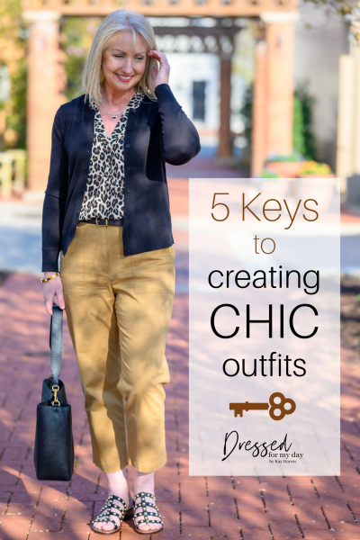 5 Keys to Creating Chic Outfits