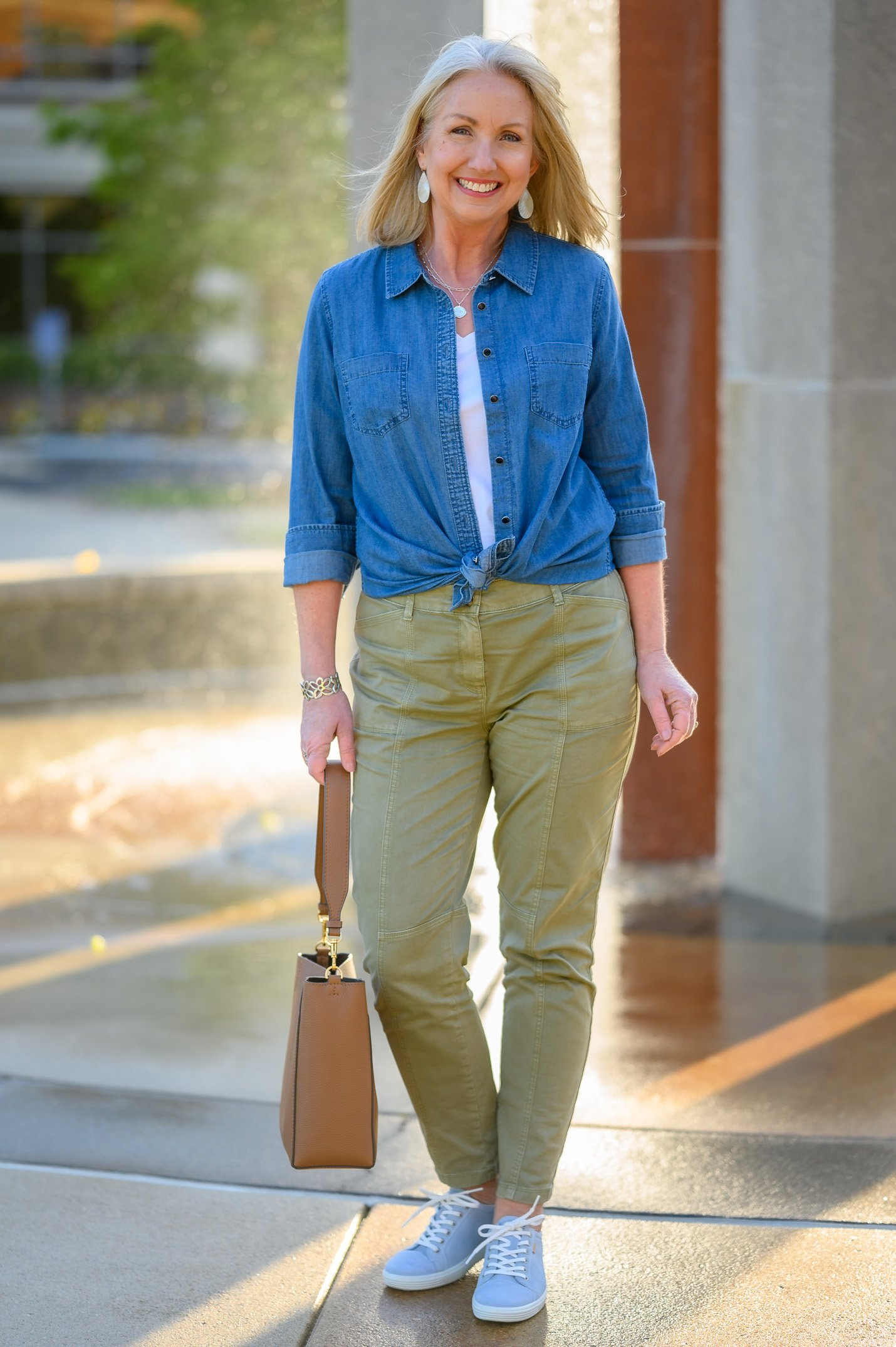 Another Reason You Need a Chambray Shirt